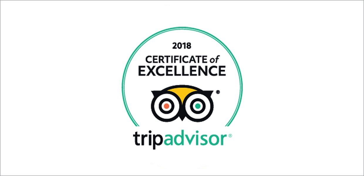 Zertificate for Excellenz from Trip Advisor